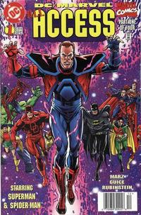 Cover Thumbnail for DC / Marvel All Access (DC, 1996 series) #1 [Newsstand Edition]