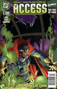 Cover Thumbnail for DC / Marvel All Access (DC, 1996 series) #3 [Newsstand Edition]