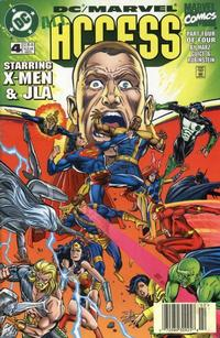 Cover Thumbnail for DC / Marvel All Access (DC, 1996 series) #4 [Newsstand Edition]