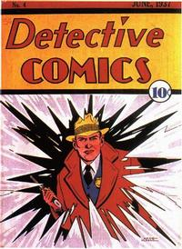 Cover Thumbnail for Detective Comics (DC, 1937 series) #4