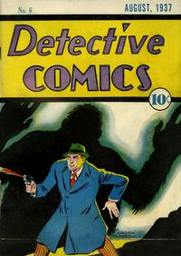 Cover Thumbnail for Detective Comics (DC, 1937 series) #6