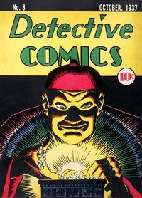 Cover Thumbnail for Detective Comics (DC, 1937 series) #8