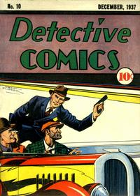 Cover Thumbnail for Detective Comics (DC, 1937 series) #10