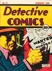 Cover Thumbnail for Detective Comics (DC, 1937 series) #12