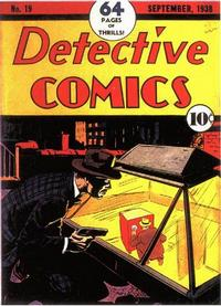 Cover Thumbnail for Detective Comics (DC, 1937 series) #19