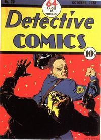 Cover Thumbnail for Detective Comics (DC, 1937 series) #20