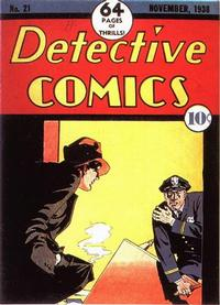 Cover Thumbnail for Detective Comics (DC, 1937 series) #21