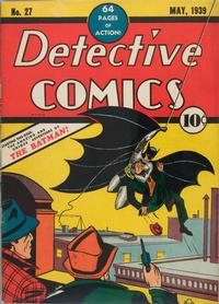 Cover Thumbnail for Detective Comics (DC, 1937 series) #27