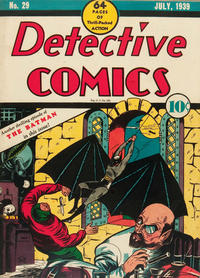 Cover Thumbnail for Detective Comics (DC, 1937 series) #29