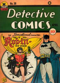 Cover Thumbnail for Detective Comics (DC, 1937 series) #38