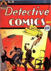 Cover Thumbnail for Detective Comics (DC, 1937 series) #39
