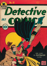 Cover Thumbnail for Detective Comics (DC, 1937 series) #41