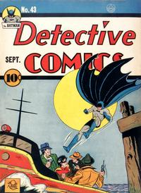 Cover Thumbnail for Detective Comics (DC, 1937 series) #43