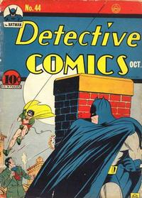 Cover Thumbnail for Detective Comics (DC, 1937 series) #44