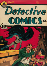 Cover Thumbnail for Detective Comics (DC, 1937 series) #45