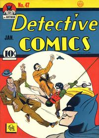 Cover Thumbnail for Detective Comics (DC, 1937 series) #47 [Without Canadian Price]