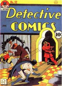 Cover Thumbnail for Detective Comics (DC, 1937 series) #52