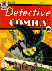 Cover Thumbnail for Detective Comics (DC, 1937 series) #54