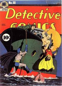 Cover Thumbnail for Detective Comics (DC, 1937 series) #58