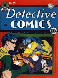 Cover Thumbnail for Detective Comics (DC, 1937 series) #59