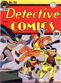 Cover Thumbnail for Detective Comics (DC, 1937 series) #60