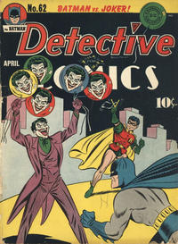 Cover Thumbnail for Detective Comics (DC, 1937 series) #62