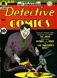 Cover Thumbnail for Detective Comics (DC, 1937 series) #69