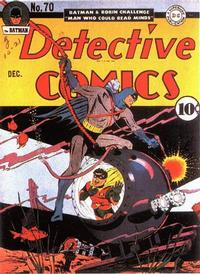 Cover Thumbnail for Detective Comics (DC, 1937 series) #70