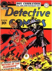 Cover Thumbnail for Detective Comics (DC, 1937 series) #73