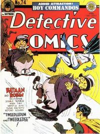 Cover Thumbnail for Detective Comics (DC, 1937 series) #74