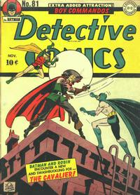 Cover Thumbnail for Detective Comics (DC, 1937 series) #81