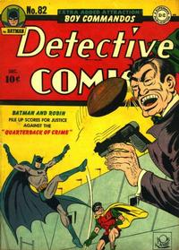 Cover Thumbnail for Detective Comics (DC, 1937 series) #82