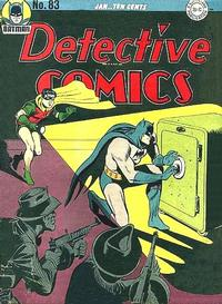 Cover Thumbnail for Detective Comics (DC, 1937 series) #83