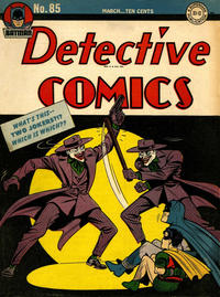 Cover Thumbnail for Detective Comics (DC, 1937 series) #85