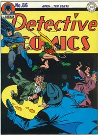 Cover Thumbnail for Detective Comics (DC, 1937 series) #86