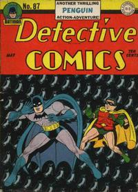 Cover Thumbnail for Detective Comics (DC, 1937 series) #87