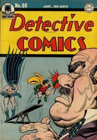 Cover Thumbnail for Detective Comics (DC, 1937 series) #88