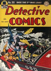 Cover Thumbnail for Detective Comics (DC, 1937 series) #90