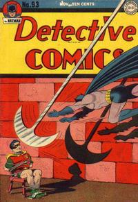 Cover Thumbnail for Detective Comics (DC, 1937 series) #93
