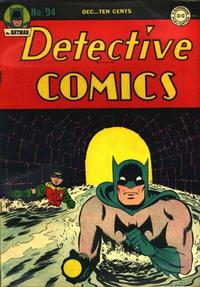 Cover Thumbnail for Detective Comics (DC, 1937 series) #94