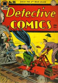 Cover Thumbnail for Detective Comics (DC, 1937 series) #96
