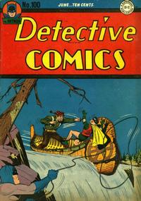 Cover Thumbnail for Detective Comics (DC, 1937 series) #100