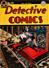 Cover Thumbnail for Detective Comics (DC, 1937 series) #111