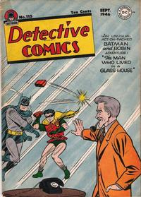 Cover Thumbnail for Detective Comics (DC, 1937 series) #115