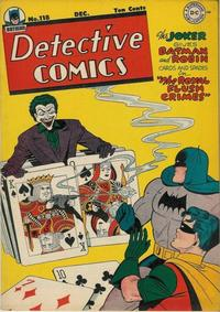 Cover Thumbnail for Detective Comics (DC, 1937 series) #118