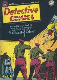 Cover Thumbnail for Detective Comics (DC, 1937 series) #125