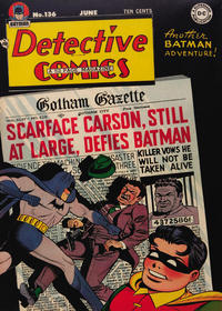 Cover Thumbnail for Detective Comics (DC, 1937 series) #136