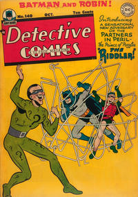Cover Thumbnail for Detective Comics (DC, 1937 series) #140 [Regular Edition]