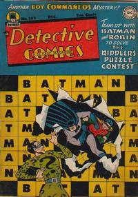 Cover Thumbnail for Detective Comics (DC, 1937 series) #142