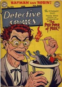 Cover Thumbnail for Detective Comics (DC, 1937 series) #143